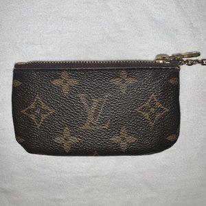 Louis Vuitton monogram key pouch wallet